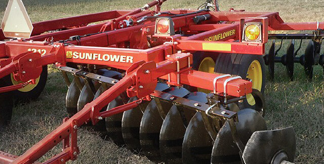Sunflower Disc Harrow